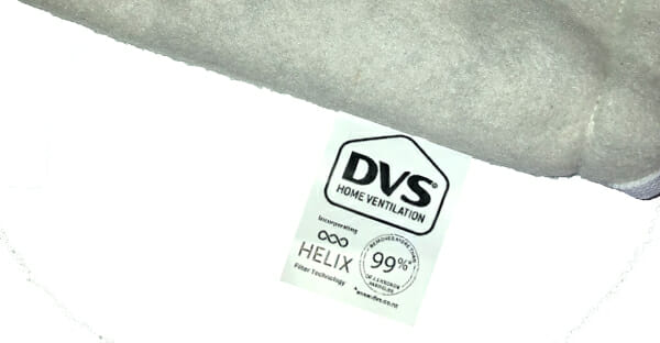 DVS carbon hybrid filter: With Helix technology